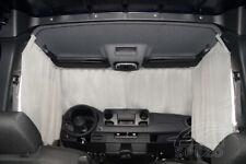 Sonnenschutzgardinen Autogardinen Fahrerhaus MB W907-910,NEU!!! Farbe grau