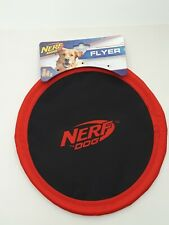 Nerf Dog Flyer Nylon Dog Toy Frisbee Lightweight Durable - New! Free Shipping!