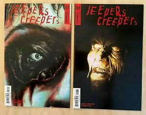 Jeepers Creepers #1 2018 Baal Cover B + Photo Variant Cover C Dynamite NM