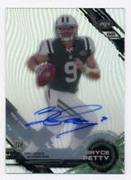 2015 Topps Tek BRYCE PETTY Rookie Card RC AUTO AUTOGRAPH #76 New York Jets SP