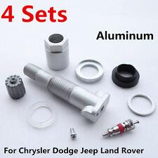 4pcs Car Tire Pressure Sensor TPMS Valve Stem Repair Kit Fit Jeep Dodge Chrysler