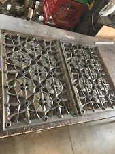 2 Avail Price Ea antique deco bronze Hot. cold air return 22 7/8 x 15 7/8
