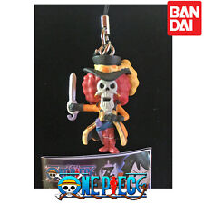 GASHAPON BANDAI ONE PIECE FILM Z BATTLE PHONE STRAP KEY RING BROOK.