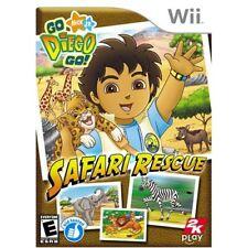 Go Diego Go Safari Rescue For Wii Game Only 6E