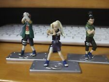 Naruto shippuden ningyosyu Shikamaru Ino Chyouji  Figure used Japan