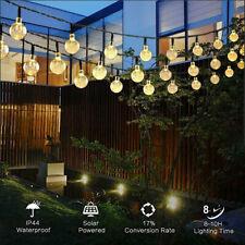 LED Solar String Light Lights Waterproof Solar Bulbs Fairy Outdoor Garden Party