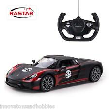 RASTAR REMOTE CONTROL RC CAR TOY PORSCHE 918 SPYDER 1:14 SCALE