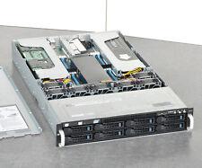 ASUS ESC4000 G3 2U Barebone Server+2x E5-2651 V2 + 4x NVIDIA TESLA K10+6GB RAID
