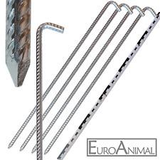 50cm ! GROSSER Erdnagel 10mm x 500mm Zelt-Nagel Hering Heringe Boden-Anker Spieß