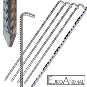 Verzinkt Stahl Zeltnagel Erdnagel ABAV Zeltheringe Erdn/ägel 10-50 STK Heringe 170mm