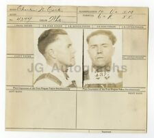 Wanted Notice - Charles N. Carter/Escaped Convict - Little Rock, AR - 1919