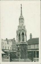 Queen Eleanor Cross Waltham 1953 Fishpool & Sons Shops Simmonds   QX.509