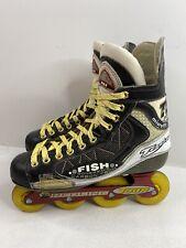 Tour Fishbone 982 Carbon Inline Roller Hockey Skates Size 10 (US Shoe Size 10
