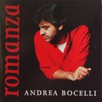 Andrea Bocelli CD Romanza - France (M/EX+)