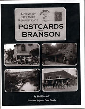 Postcards from Branson - A Century of Family Reminiscence- Todd Parnell - Auto'd