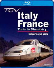 TGV Italy - France: Turin to Chambery - Driver's Eye View * Blu-ray