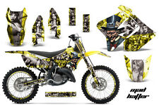 Suzuki RM 125/250 Graphic Kit AMR Racing # Plates Decal Sticker Part 01-09 MHYS