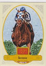 SECRETARIAT 1973 Triple Crown KENTUCKY DERBY Horse Racing GOLDEN AGE CARD