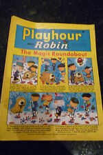 "PLAYHOUR & ROBIN - (1969) - Date 27/09/1969 -  Inc ""The Magic Roundabout"""