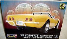 revell 1/25 1968 CHEVY CORVETTE ROADSTER or HARDTOP 2n1
