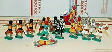 Timpo Toys Medieval Knights Plastic Toys - 14 Figures
