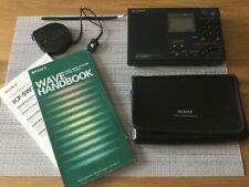 Sony ICF-SW7600G Portable World Band SW/MW/LW/FM Receiver Shortwave Radio*VGC
