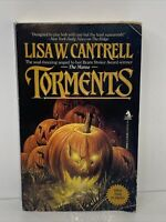 Vintage Horror TORMENTS by Lisa Cantrell 1990 First Edition Paperback