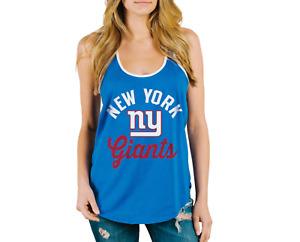 New York Giants Junk Food NFL Blue Touchdown Tank Top Women's XXL NEW