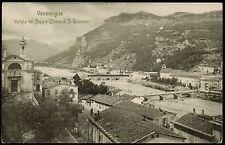 AX0115 Imperia - Provincia - Ventimiglia - Vallata del Roya - 1912 Old postcard