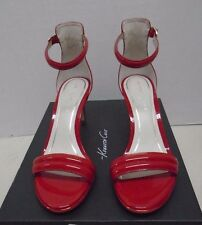 Kenneth Cole New York Mallory Red Womens Shoes Heel New 8 1/2 M Strappy