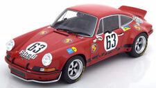 GT Spirit 1973 Porsche 911 Carrera RSR 24h Le Mans Loos/Barth LE of 504 1:18*New