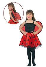 Disfraz mariquita niña infantil barato talla 1 a 2 años