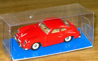 Supplied by DINKY DY 25 PORSCHE 356 COUP 1958/62 Gloss Blue Base DISPLAY BOX