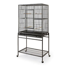 Fortress Flattop Bird cage for Cockatiel on Wheel Stand