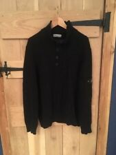 Stone Island Chunky, Cable Knit Wool Men's Jumpers & Cardigans