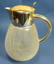 Kalte Ente - Karaffe - Kralelee Glas - Montur versilbert - #16452