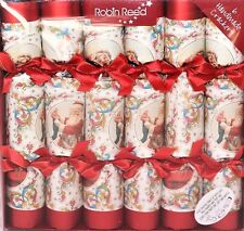 Robin Reed H8 Christmas Holiday 6pc 12in Themed Crackers - Victorian Santa 61720