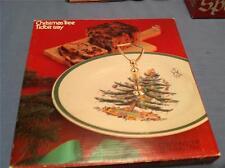 "Spode ""Christmas Tree"" Tidbit Tray New w/Original Box Contains One Tray"