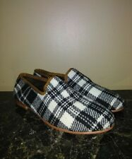 RES IPSA Plaid Wool Loafer Size  10M-~Rt $275