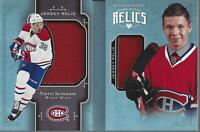 2017-18 Black Diamond Rookie Booklet Relics #RBRNS Nikita Scherbak Jersey /199