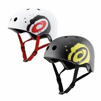 Osprey Adult Scooter Skate Board Helmet Safety BMX Bike Rollerskate Black White