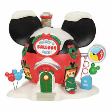 Dept 56 Disney Village Mickey's Balloon Inflators
