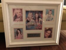 NEW!! Hannah Montana/Miley Cyrus Framed Picture Collage