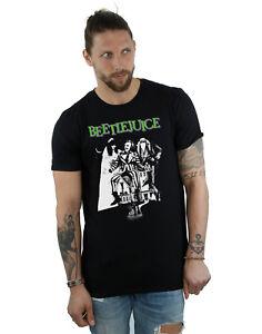 Beetlejuice Men's Mono Poster T-Shirt