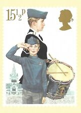 POST OFFICE STAMP POSTCARD<>YOUTH ORGANISATIONS (the boy's brigade)