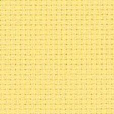 toile aïda DMC jaune