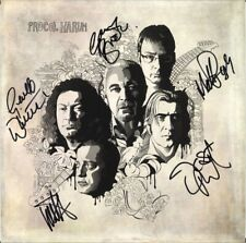 """PROCOL HARUM Novum FULLY SIGNED 12"""" Inner Whiter Shade of Pale Brooker AUTOGRAPH"""