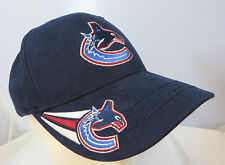 NHL Vancouver Canucks Hockey YOUTH KIDS cap hat adjustable v