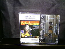 MELANIE GREATEST HITS - RARE CASSETTE TAPE NM