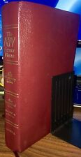 NIV Study Bible, 1995 Bonded Leather Cover w/Carry Case, Zondervan, Burgandy!!!!